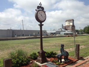 National Orphan Train Clock