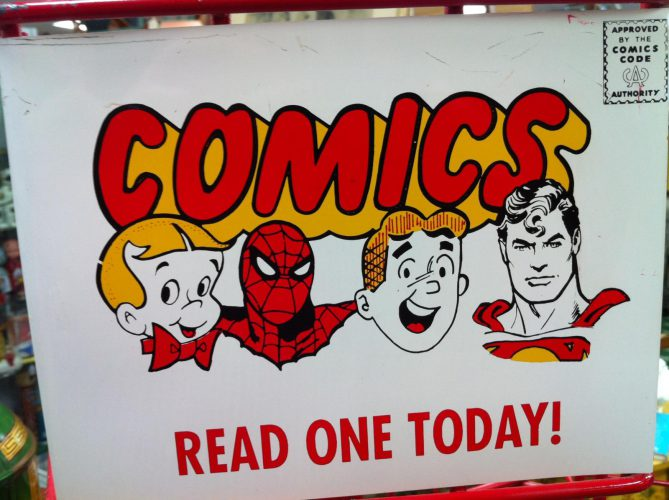 Comics: Read One Today!