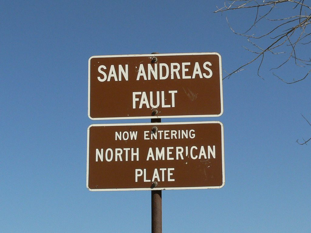 """""""San Andreas Fault - California"""" by Linda Tanner, used under CC License"""