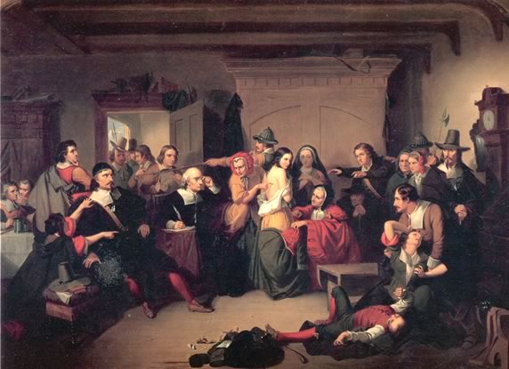 Matteson Examination of a Witch (1853)
