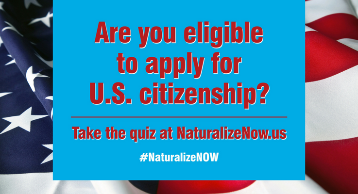 Are you eligible to apply for U.S. citizenship?