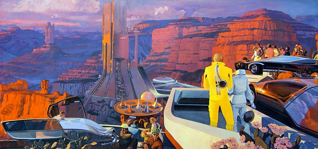 Syd Mead Illustration
