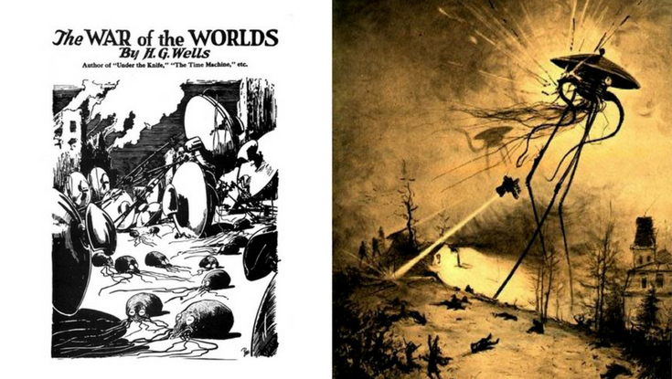 War of the Worlds illustrations