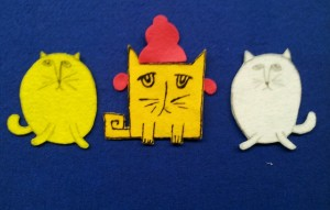 Square Cat flannel 2