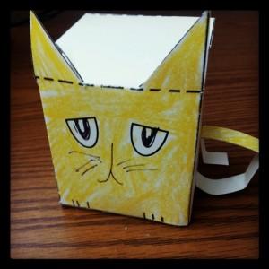 Square Cat craft