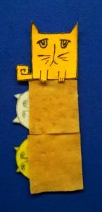 Square Cat flannel