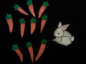 Ten Little Carrots