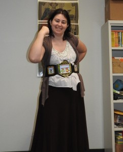 me with lucha libros belt