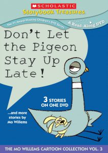 Don't Let the Pigeon Stay Up Late DVD