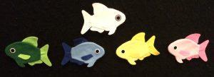 Fish Swimming in the Ocean Flannelboard