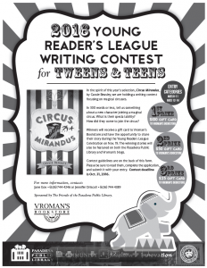 yrl writing contest