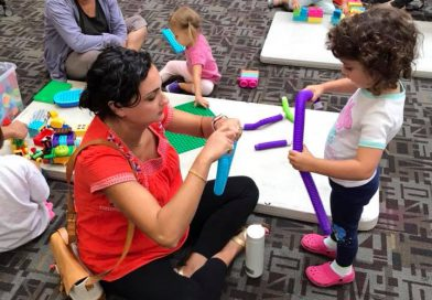 Preschool STEAM ~ Shapes, Building, Problem Solving