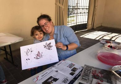 Preschool STEAM ~ Tempera Leaf Prints