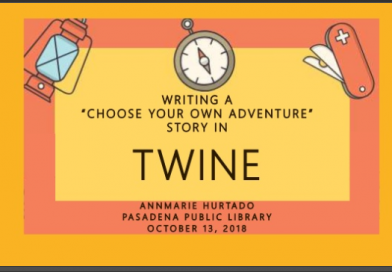 "Writing ""Choose Your Own Adventure"" stories with Twine"