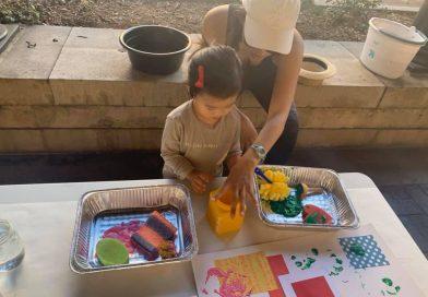 Preschool STEAM ~ Mixed Media & Textures