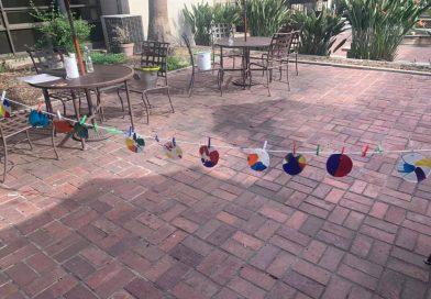 Preschool STEAM ~ Spin Art ~ Centrifugal Force