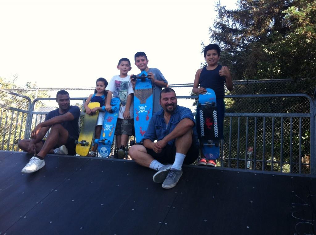 Skateboard Design workshop at La Pintoresca Branch Library