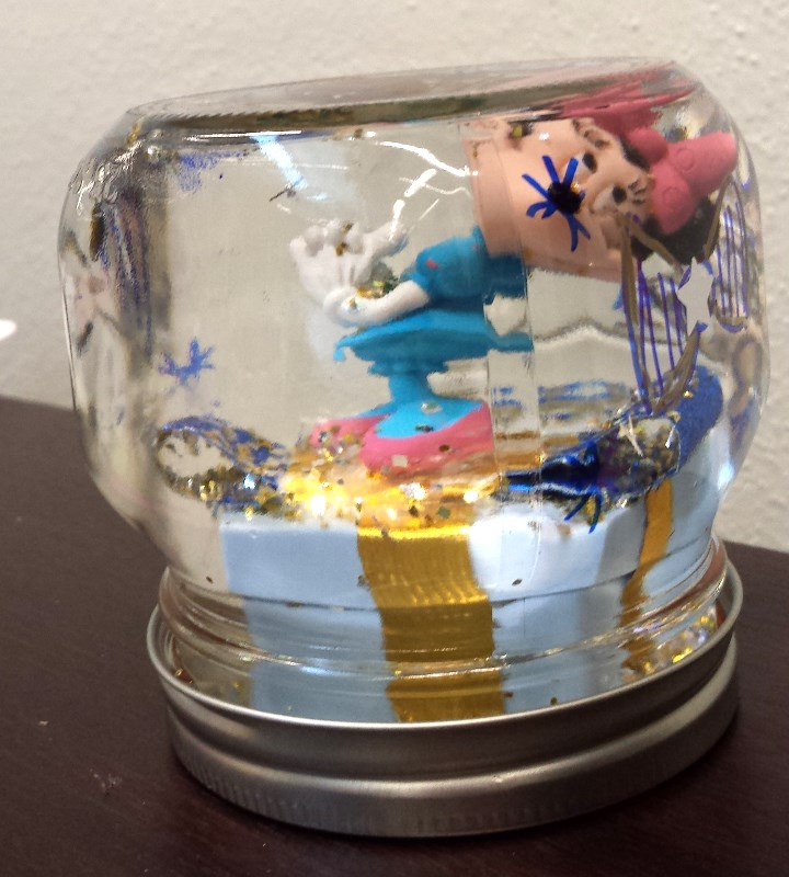 Minnie snowglobe by Jessi S. age 12