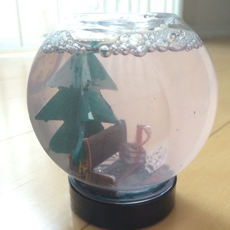 snowglobe by Julia S., age 16