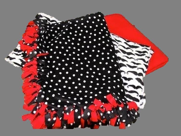 Create a No Sew Blanket @ PPL – Teens Blog