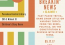 """Breakin' News"" — A New Event"