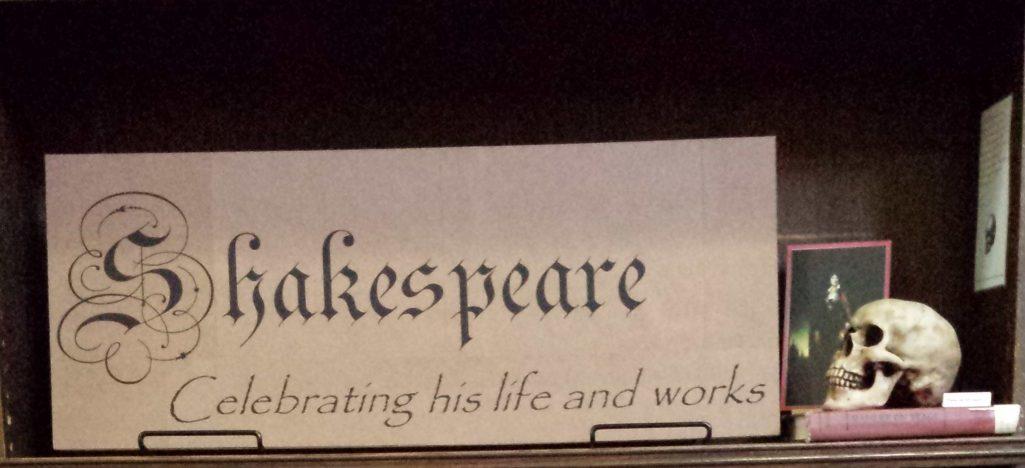 Celebrating Shakespeare in April